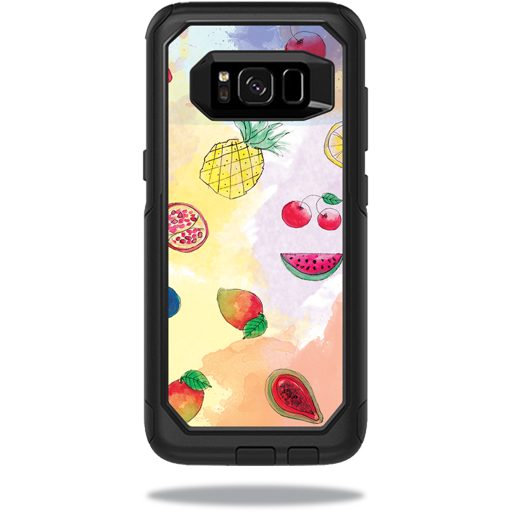 MightySkins Protective Vinyl Skin Decal for OtterBox CommuterSamsung Galaxy S8 Case sticker wrap cover sticker skins Fruit Water