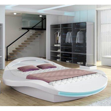 Orren Ellis Bangor Modern European Kingsize Upholstered Platform Bed