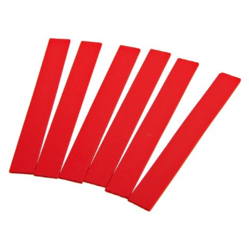 6Pk Red Thinline Marking Pencil Refills Forney Welding Accessories 70797