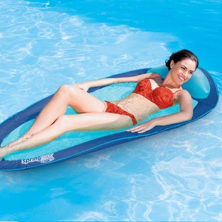 SwimWays Original Spring Float - Floating Swim Hammock for Pool or