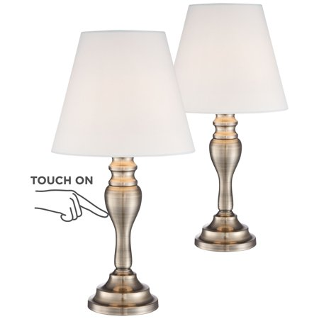 Regency hill traditional accent table lamps 19 1 4 high - Traditional table lamps for bedroom ...