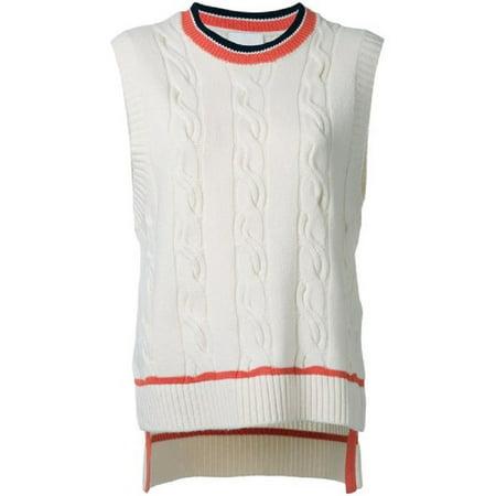 - 3.1 Phillip Lim Collegiate Sleeveless Sweater (M)