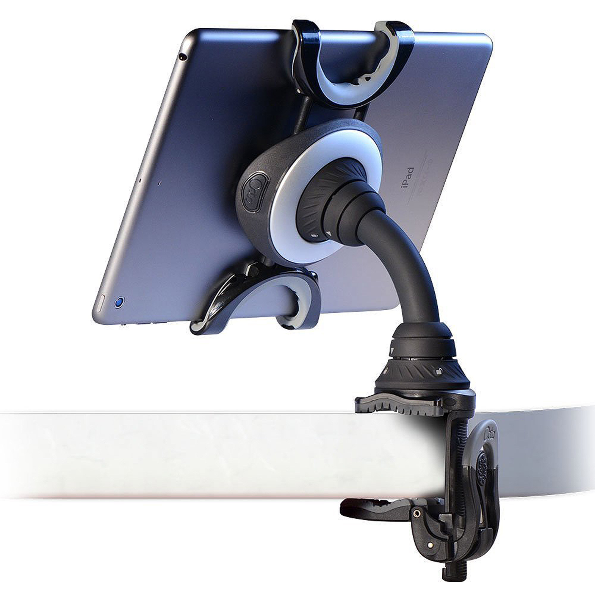 Octa TabletTail: Lynx  Flexible Mount & Stand for iPad/Tablet