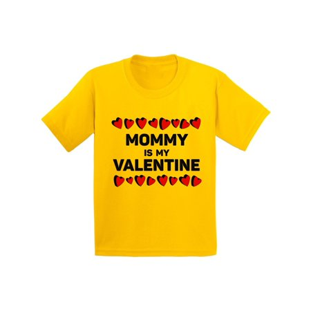 Awkward Styles Mommy is My Valentine Tshirt for Youth Boys Cute Gifts for Boys Mom Boys Valentine Shirt Funny Valentines Tshirt for Youth Boys Valentine Gifts for Kids Valentines Mama's Boy Shirt](Mommys Boy)