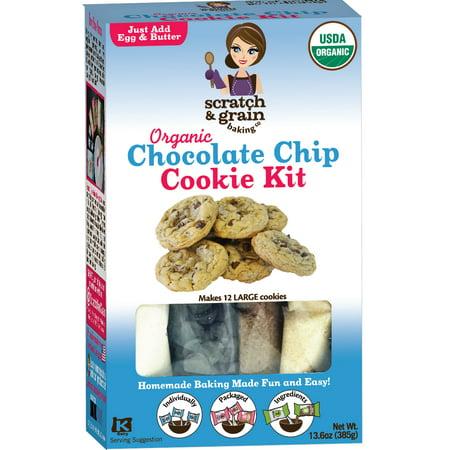 Halloween Cookies Kids (Scratch & Grain Baking Scratch & Grain Baking Cookie Kit, 13.6)