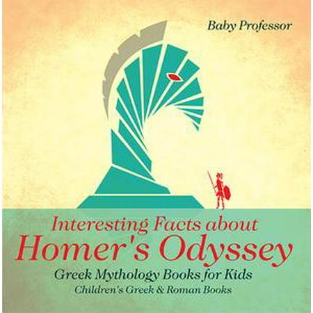 Interesting Facts about Homer's Odyssey - Greek Mythology Books for Kids | Children's Greek & Roman Books - eBook - Interesting History About Halloween