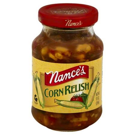 Spicy Corn Relish - Baldwin Richardson Foods Nances  Corn Relish, 9.5 oz