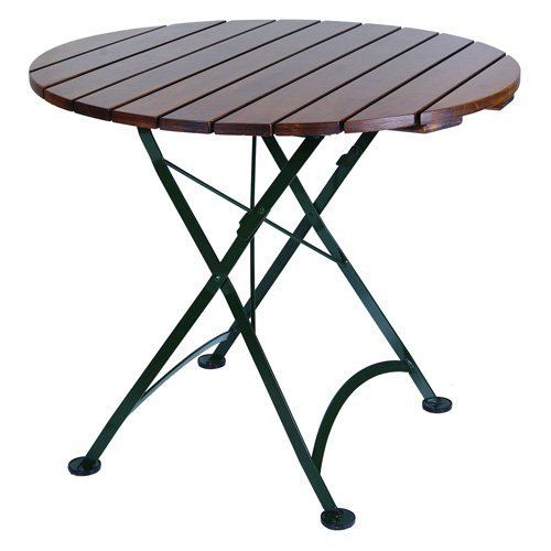 Furniture Designhouse Round European Cafe Folding Table - 32 in.
