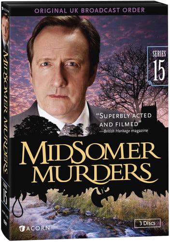 Midsomer Murders: Set 15 (DVD) by RLJ/SPHE