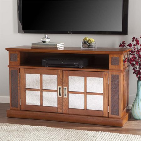 Southern Enterprises Marcell Faux Stone Tv Stand In Missi