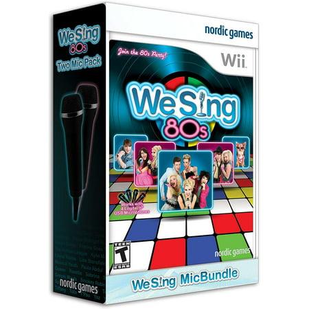 We Sing: 80s with 2 Microphones - Nintendo Wii (We Cheer 2 Wii)