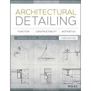 Architectural Detailing : Function, Constructibility, Aesthetics
