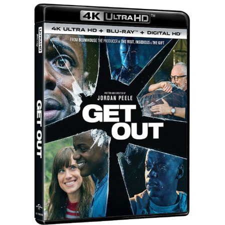 Get Out  4K Ultra Hd   Blu Ray   Digital Hd