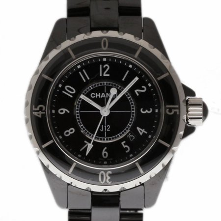 Pre-Owned Chanel J12 H0682 Ceramic Women Watch (Certified Authentic & Warranty)
