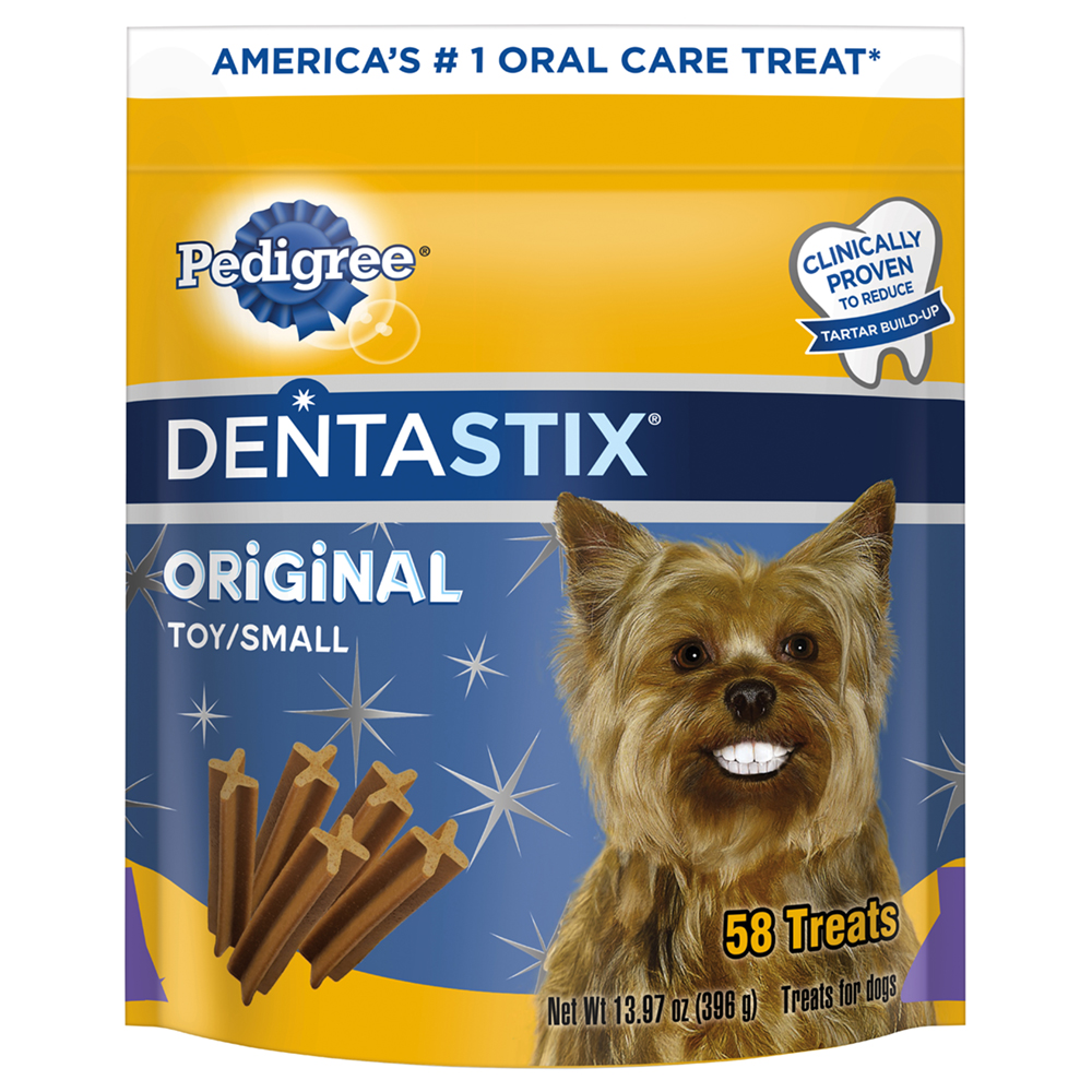 PEDIGREE DENTASTIX Original Toy/Small Treats for Dogs - 13.97 oz. 58 Count