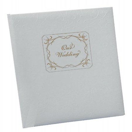 Jamie Lynn Wedding Accessories Memory Book, White