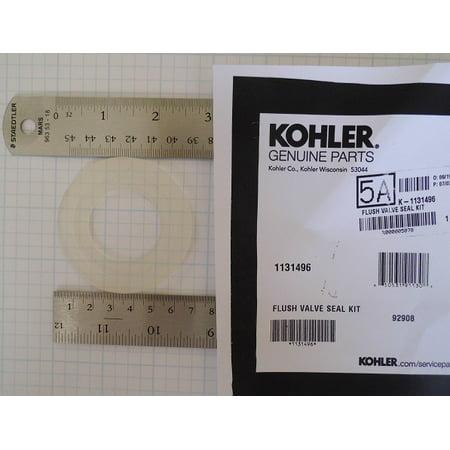 Kohler Flush Valve Kit (NuFlush Replacement for Kohler 1131496 Flush Valve Seal Kit (3 pack) )