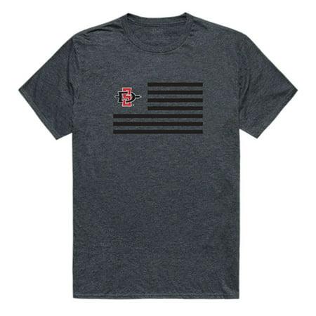 SDSU San Diego State University Aztecs Flag Tee T-Shirt Heather Charcoal XL](Halloween San Diego)