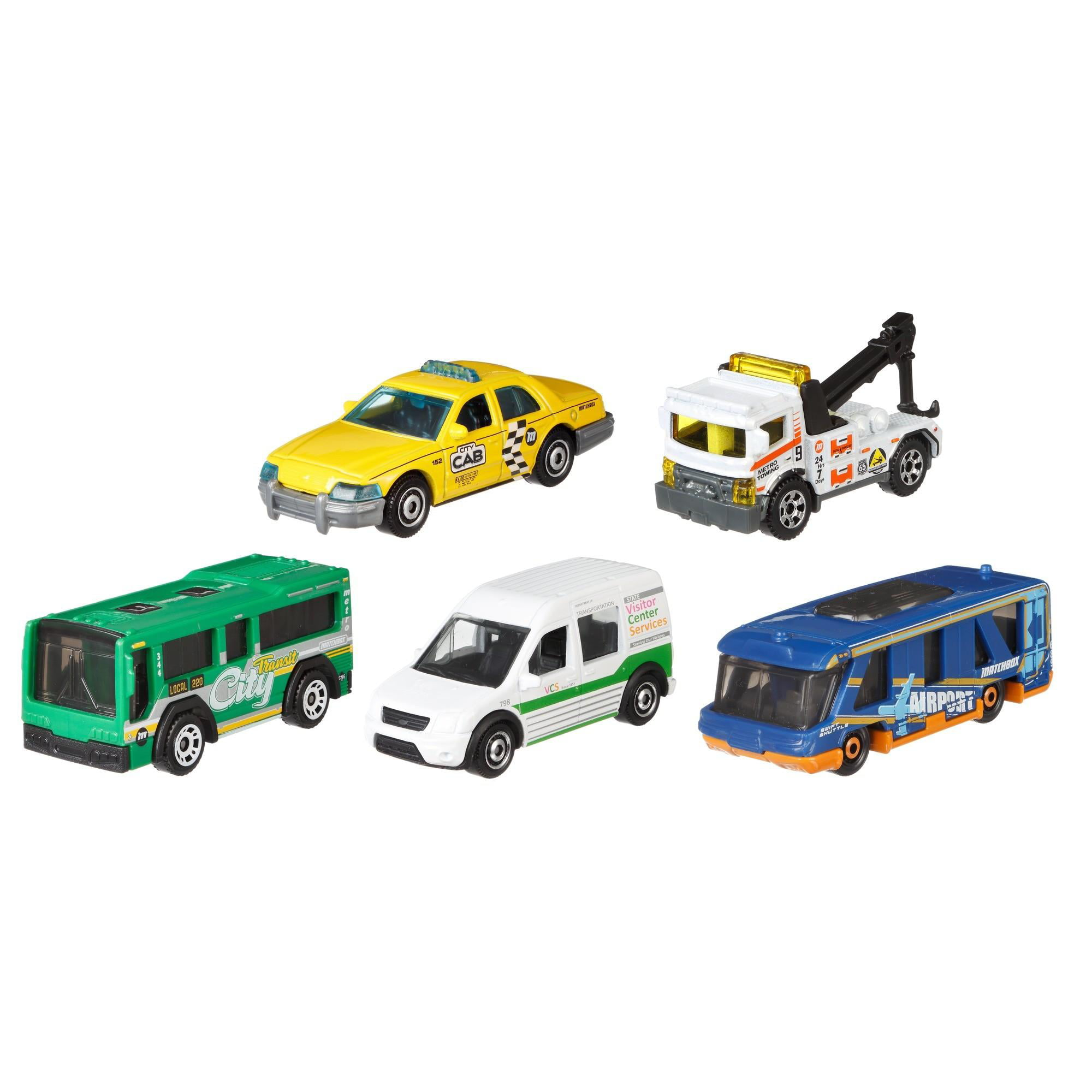 Matchbox 5-Car Pack (Styles May Vary) by Mattel