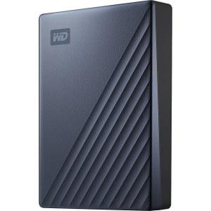 WD 4TB MyPassportUltra BluePortable External Hard Drive, USB-C - (Best Usb C External Hard Drive)