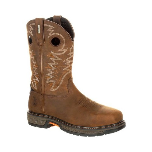 Men's Georgia Boot GB00224 Carbo-Tec LT Alloy Toe WP Pull-On Boot