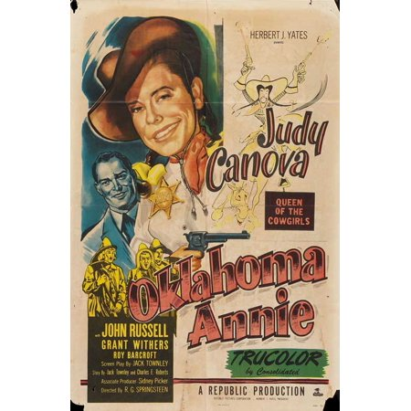Oklahoma Annie POSTER Movie Mini Promo - Oklahoma Aquarium Halloween