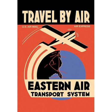 Eastern Air flew Kingsbirds and Curtiss Condors and this poster marks the addition of Norfolk VA and Augusta GA as destinations  Eastern Air Lines was a major United States airline from 1926 to 1991 B
