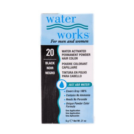 Water Works Activated Permanent Powder Haircolor - Color : #20