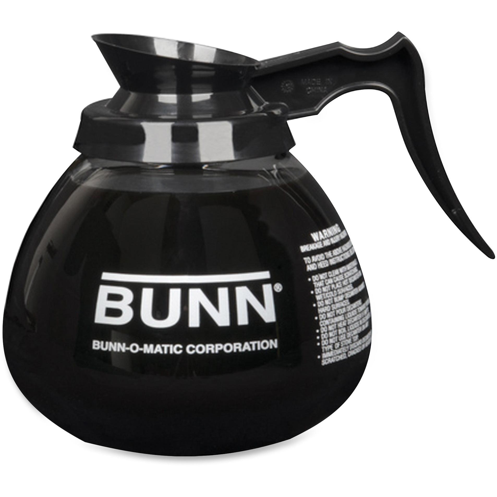 BUNN, BUN424000101, 12-Cup Pour-O-Matic Decanter, 1 Each, Clear