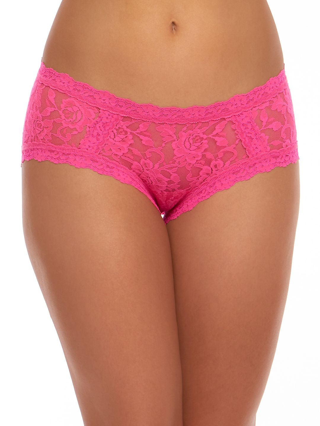 Low-Rise Signature Lace Girl Bikini Panty