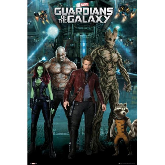 GB Eye XPE160248 Guardians of The Galaxy - Superhero Team Poster Print, 24 x 36 - image 1 de 1