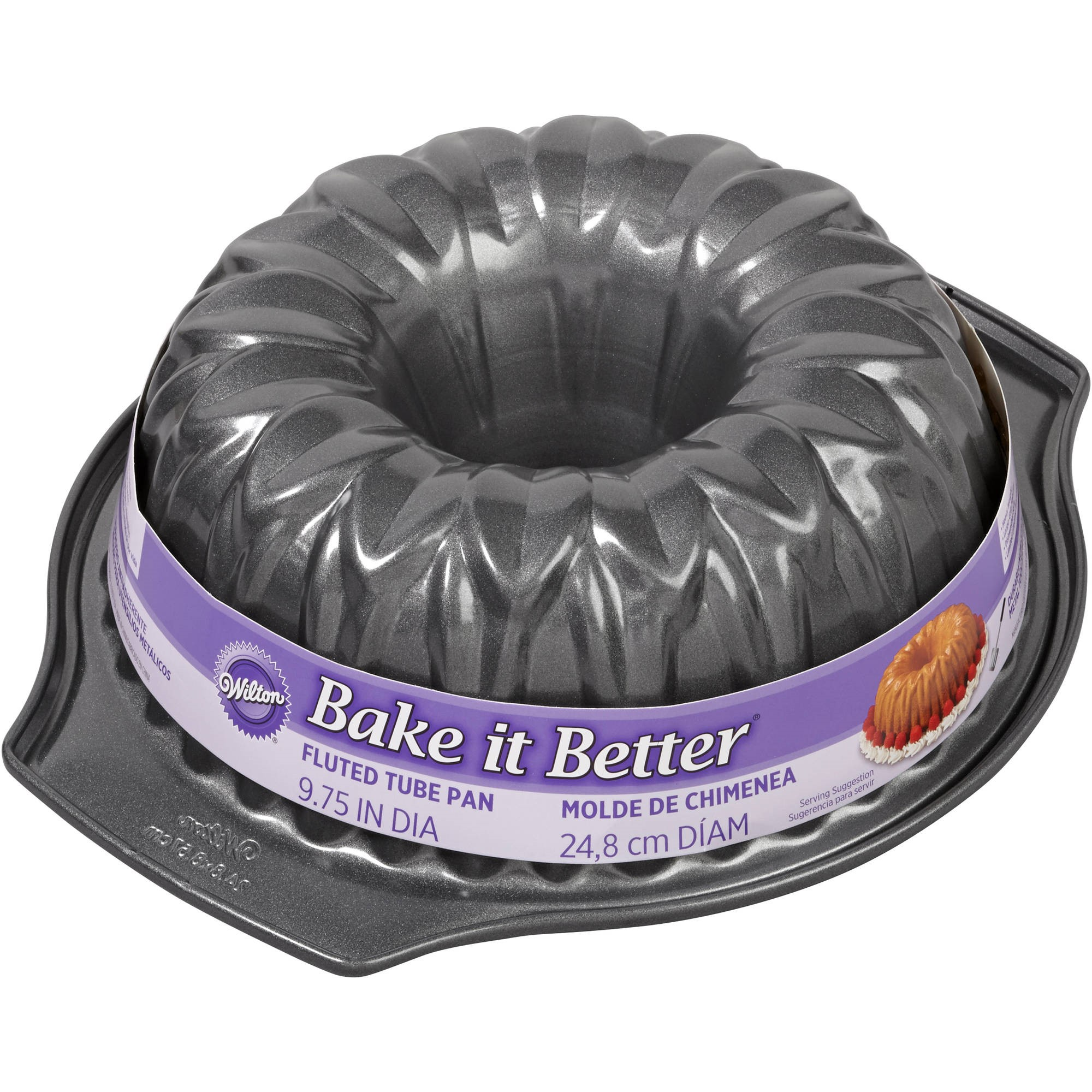 Wilton Bake It Better Flower Fluted Tube Pan 2105 1328