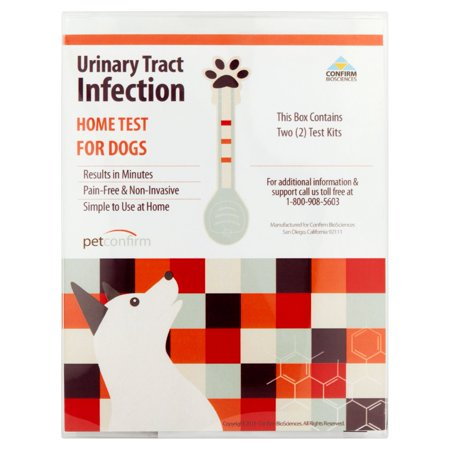 Confirm Biosciences Petconfirm Urinary Tract Infection Home Test Kits For Dogs  2 Count