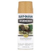 Rust-Oleum Stops Rust Hammered Gold Paint, 12 oz