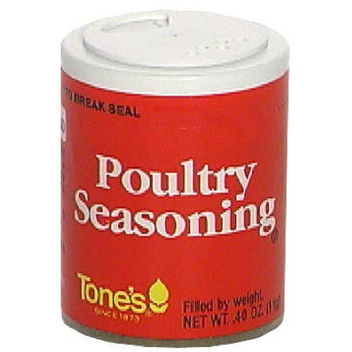 Tone's Poultry Seasoning, .4 oz (Pack of 6)