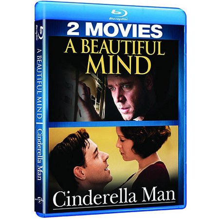 A Beautiful Mind   Cinderella Man  Blu Ray   Widescreen