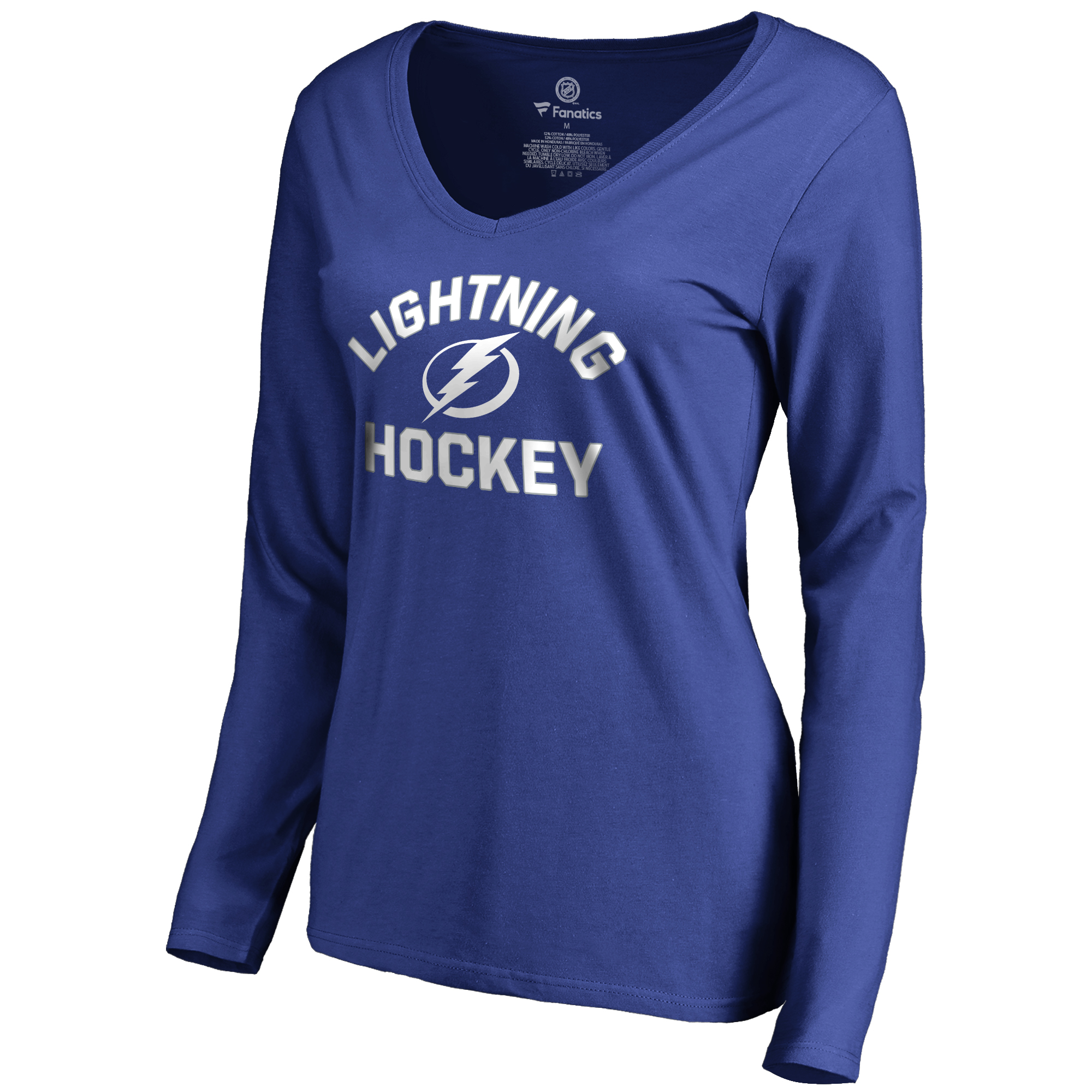 Tampa Bay Lightning Women's Overtime Long Sleeve T-Shirt - Blue