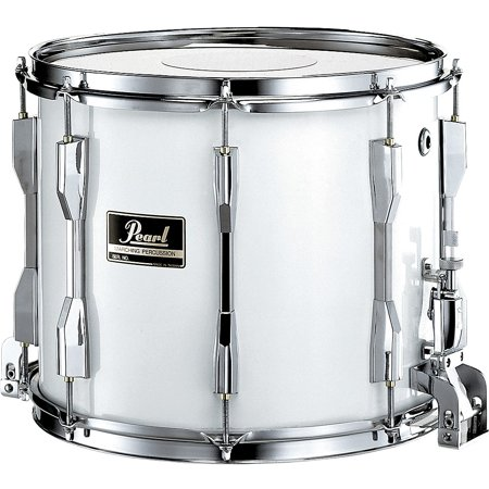 Pearl Competitor Traditional Snare Drum 13 x 9 in. Black Black Marching Snare Drum
