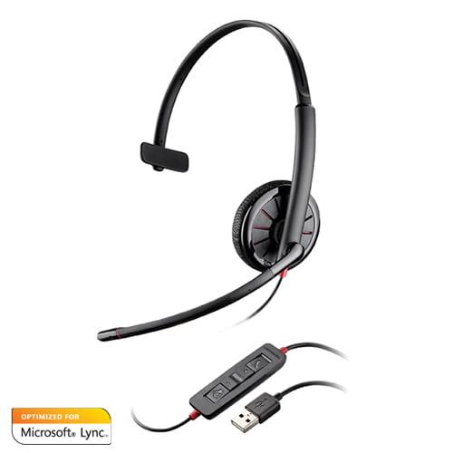Plantronics 200264-01 Blackwire C315-M Microsoft Optimized Mono Corded Headset
