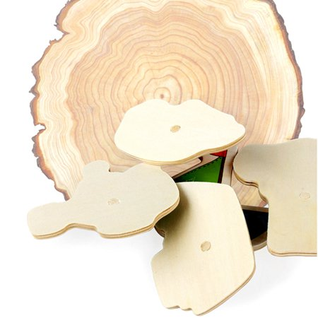 Baby Toys Montessori Wooden Puzzle Hand Grab Board Educational Wood Puzzles - image 5 de 8