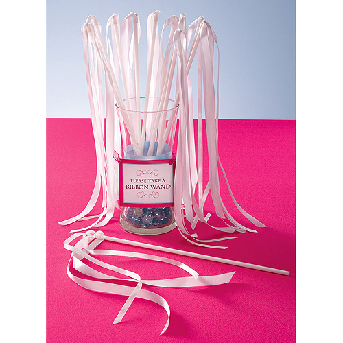 Wilton Ribbon Wands, White 24 ct. 1006-9099