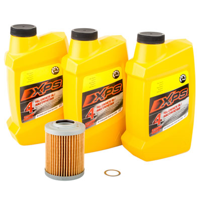 Oil Change Kit With Can-Am XPS Synthetic All Climate for Can-Am Maverick Max 1000 X rs DPS 2014-2015