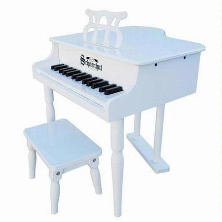 Shoenhut Baby Grand Piano : schoenhut 309w 30 key classic baby grand piano white ~ Russianpoet.info Haus und Dekorationen
