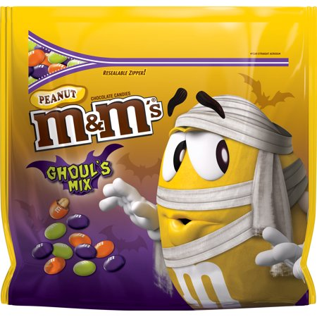 M&M'S Halloween Peanut Chocolate Ghouls Mix Candy, 38 (Halloween M&m's Candy Corn)