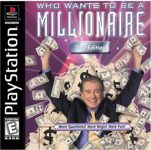 Who Wants To Be A Millionaire Playstation Video Game - Used