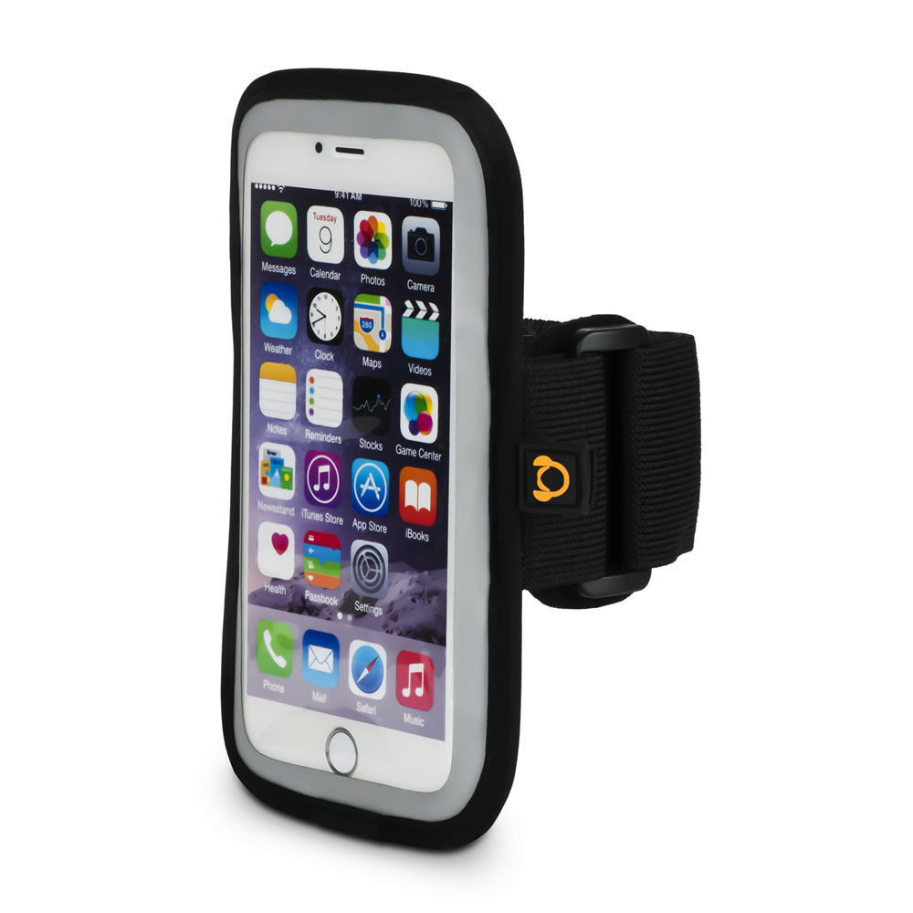 Gear Beast Sports Armband Case For iPhone X 8 7 6 6s 5 SE Samsung Galaxy S7 S6. Cell Phone Holder For Running Jogging Workout Fitness Exercise. Waterproof Reflective Band With Card Pocket