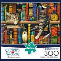 Buffalo Games Charles Wysocki Frederick the Literate 300 Piece Jigsaw Puzzle