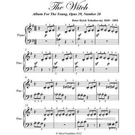 The Witch Album for the Young Beginner Piano Sheet Music - eBook