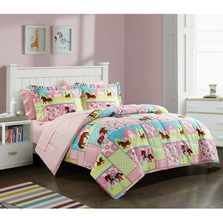 Heritage Club Kids Country Meadows Bed in a Bag Bedding Set ()