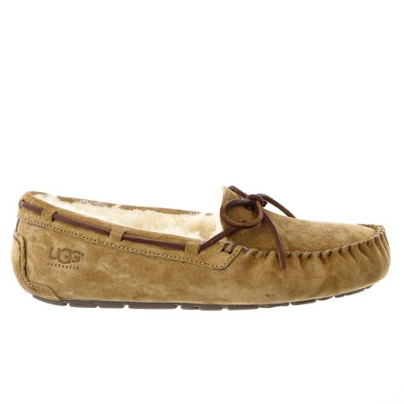 67352d485f5 Womens UGG Dakota Moccasin Chestnut Brown 5612-CHE